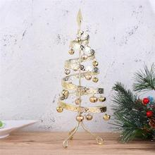 Creative Bell Christmas Tree Ornament DIY Mini Christmas Tree Pendant Desktop Festival Miniature Tree