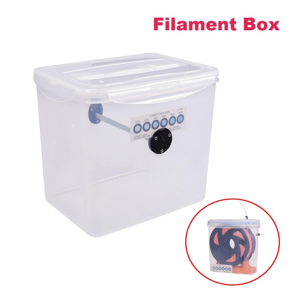 صندوق خيوط للطباعة ثلاثية الأبعاد ، صندوق تخزين ، للحفاظ على الجفاف ، TPU ، ABS ، PLA ، أجزاء الطابعة
