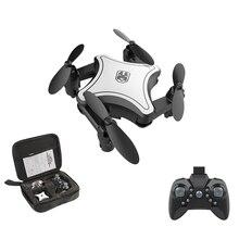 Télécommande Mini Drone aérien Pixel aérien pliant quadrirotor HD Puzzle télécommande avion jouet
