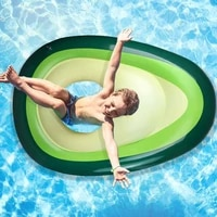 avocado inflated float environmental protection pvc aquatic toy swimming tube water wing