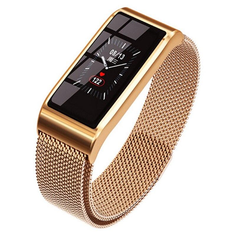 B45 Smart Bracelet Sport Wristband Waterproof Bracelet Blood Pressure Bluetooth Metal Heart Rate Watch Fitness Tracker