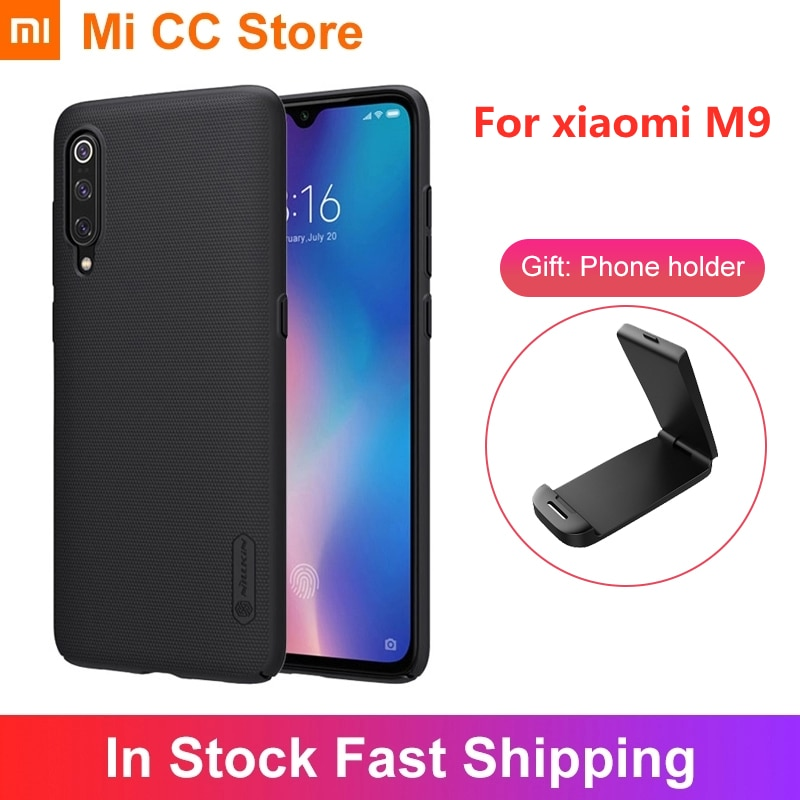 For Xiaomi M9 Phone Case Frosted PC Hard NILLKIN Back Cover Anti scratch For Xiaomi MI 9 MI9 Transpa