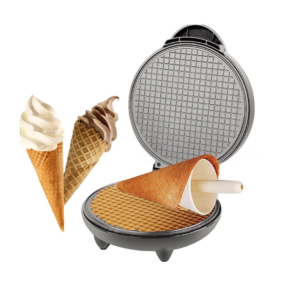 Электрическая машина для изготовления яиц, самодельная машина для приготовления мороженого, хрустящая металлическая сковорода для выпечк...