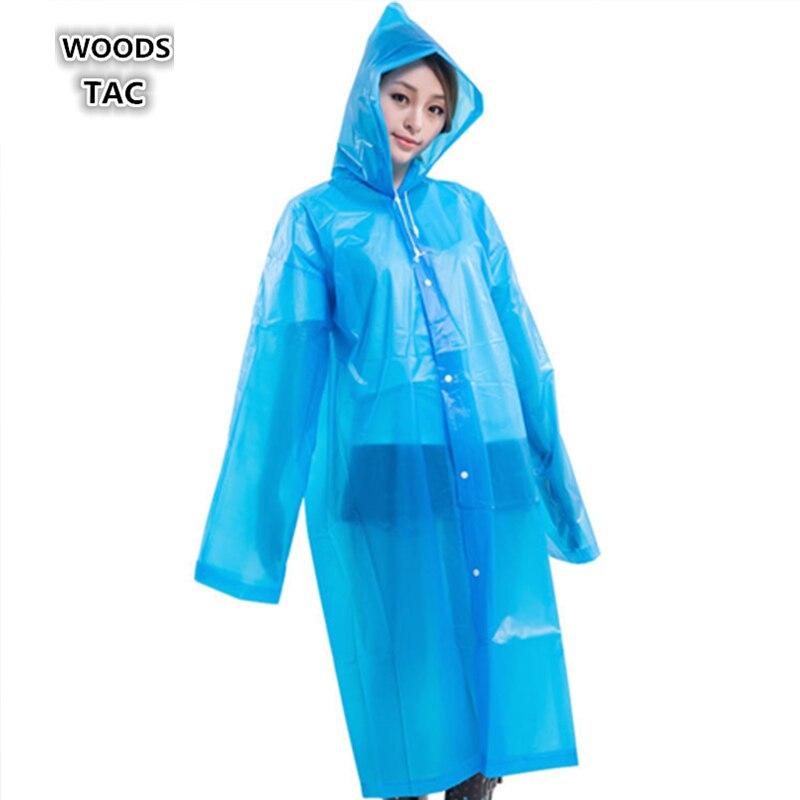 Женский и мужской дождевик из ЭВА, утолщенный водонепроницаемый дождевик, одежда для походов, кемпинга, толстовка, дождевик, костюм