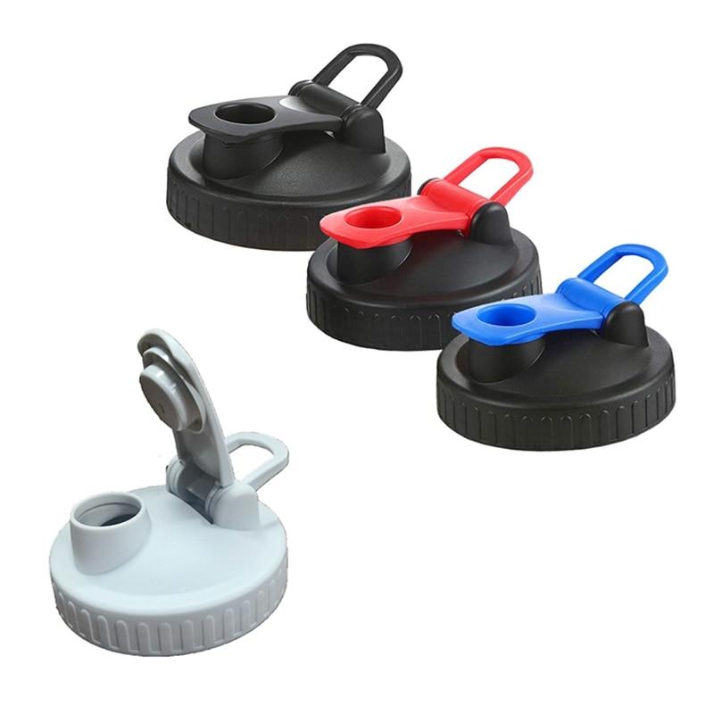 4 tapas de tapa de tarro de Mason de boca ancha, tapas de almacenamiento reutilizables con sello de silicona a prueba de fugas para Mason/bola/tarros de conservas