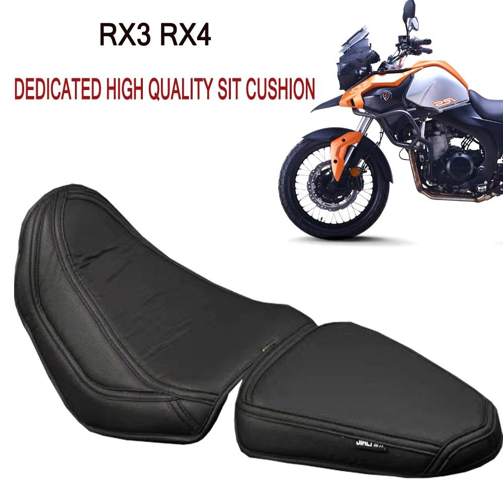 إعصار RX3 RX4 دراجة نارية الرجعية وسادة مقعد وسادة مقعد من الجلد ل ZongShen إعصار RX3 RX4 RX 3 RX 4