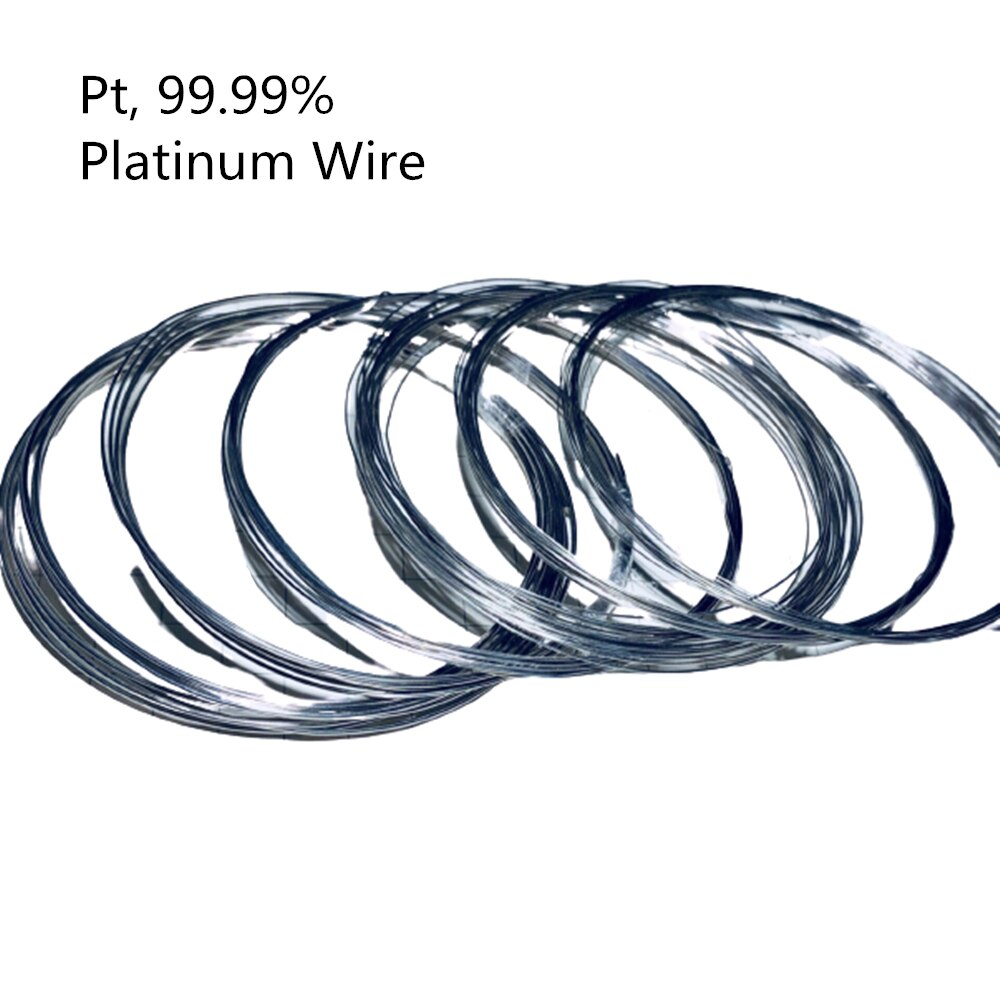 High Purity Platinum Wire for Scientific Research, 99,99% Pure Pt, Solid Platinum Wire, Collection Experiment Hobbies
