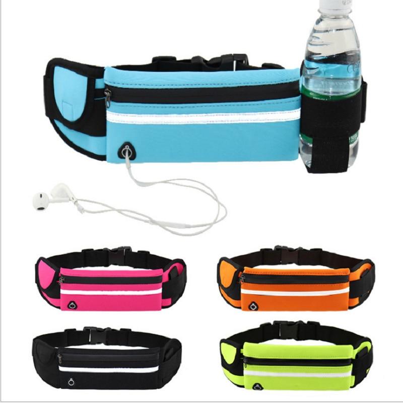 Спортивная сумка для бега, сумка на пояс для бега, портативная Водонепроницаемая уличная спортивная сумка с карманами для телефона, противо...