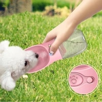 water bottle portablepet dog bottle for small medium large dog leakage proof dogs water bottle outdoor water bowl pet products