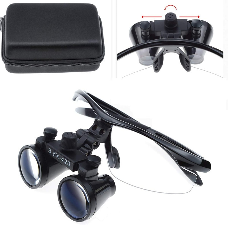 High Quality Medical Loupes 2.5/3.5X Binocular Magnifier Dental Surgical Magnifying Glasses for ENT Plastic Surgery Pet Clinc