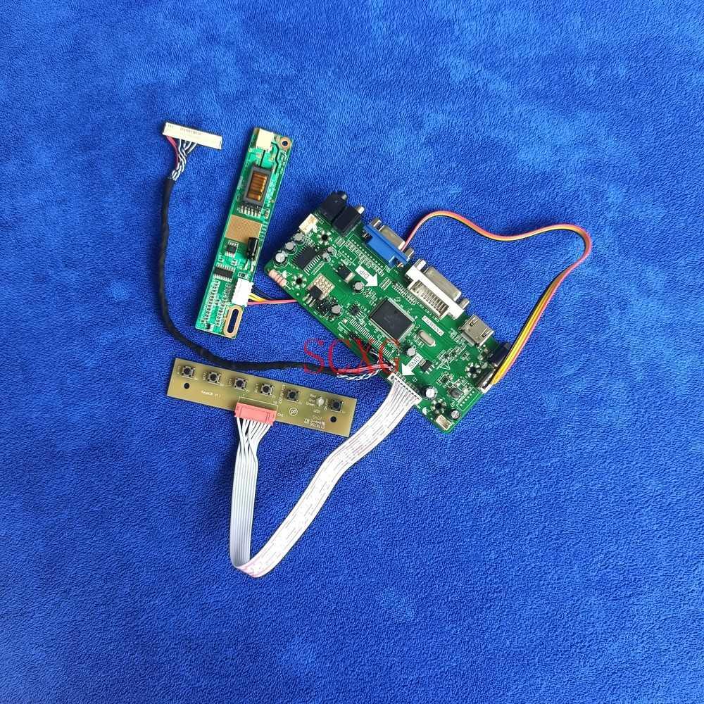 1CCFL عدة 30 دبوس LVDS LCD مصفوفة بطاقة وحدة التحكم HDMI متوافق DVI VGA ل LTN160AT01-001/A01/C01 LTN160AT02-002/H01 1366*768