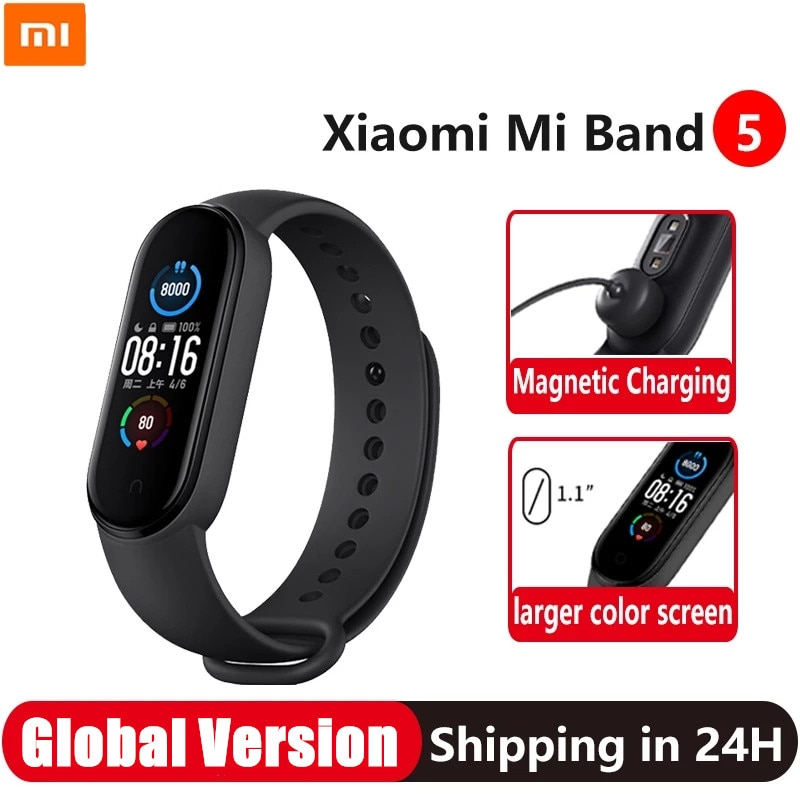 Xiaomi Mi Band 5 Smart Bracelet 1.1