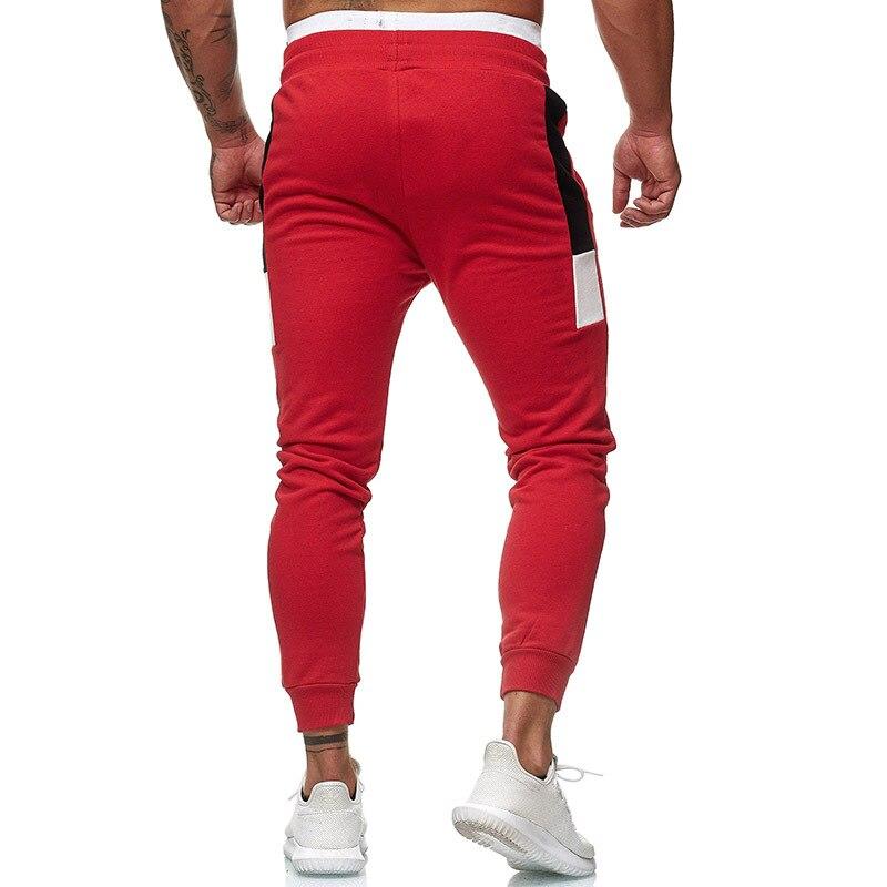 Men's Fitness Training Large Size Sports Warm Pants Jogger Men's Fashion Casual Feet Sports Pants Weight Loss Bottoms Sportswear