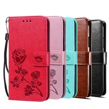 Cases for Huawei Y3II Y3 II 2016 LUA-L21 LUA-U22 LUA-U02 Cover Case Luxury Vintage Magnetic Flip Lea