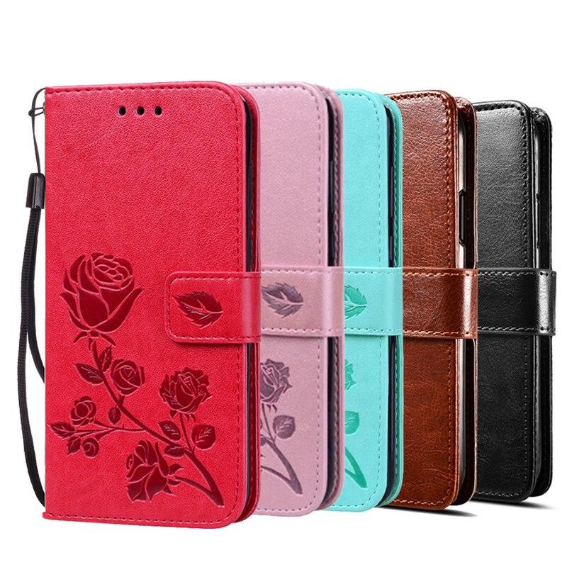 Кожаный чехол-бумажник с откидной крышкой для Samsung Galaxy J6 Plus J610 J610F, 3D Цветочный чехол-подставка для телефона Samsung J6 Prime 2018, чехол