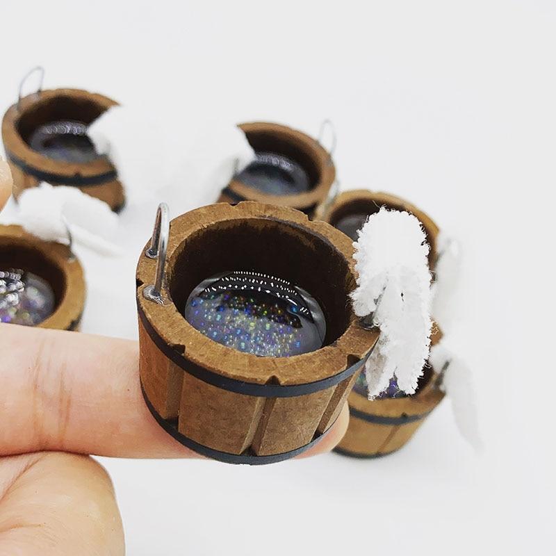 1/12 Dollhouse Mini Wood Bubble Washing Basin+towel Simulation bathtub Model for Doll House Miniature Decoration 1 12 scale dollhouse miniature household appliance model white drum washing machine