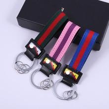 ZG lanière pour clés mauvais oeil porte-clés accessoires petit ami cadeau rouge et vert en cuir voiture porte-clés horreur bijoux