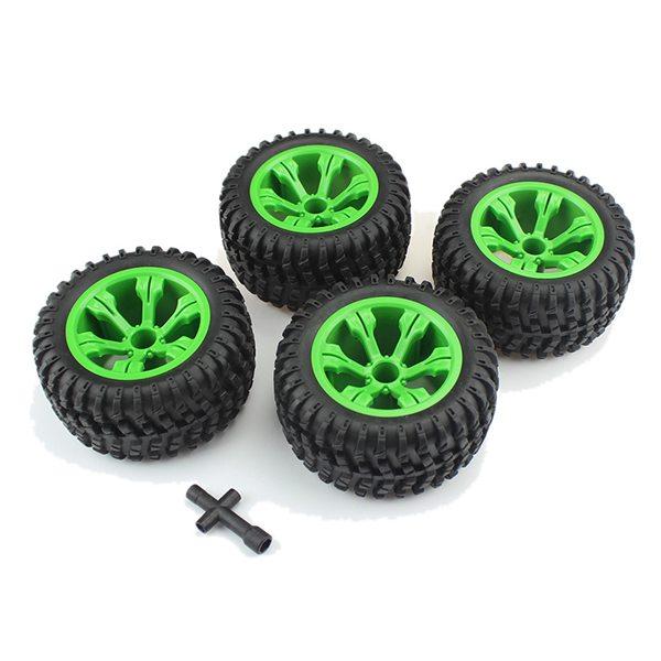Neumáticos para coche de control remoto todoterreno de alta velocidad Q39 Q40 Q46 WLtoys 110 L959 12428 FY-03 FY-04 12404 4 Uds./set de 1/12