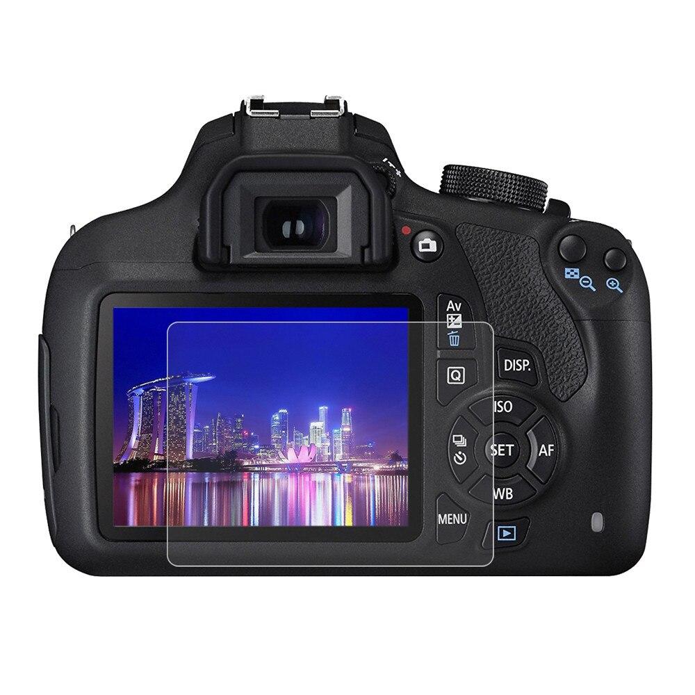 מזג זכוכית עבור Canon 50D 40D 60D 600D 70D 80D 100D 200D 5D 6D 7D Mark II III IV 7D2 5D3 5DS 5DRS 5D4 7600D מסך מגן