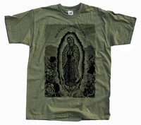 new our lady of guadalupe mens t shirt olive virgin blessed mary size s 4xl