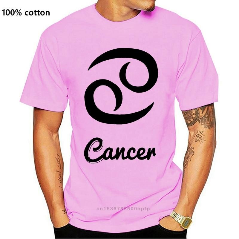 New Shirt T Shirt Regular Short Mens Cancer Zodiac Star Sign Birthday Horoscope Crab Water Love Hug Tee Shirt