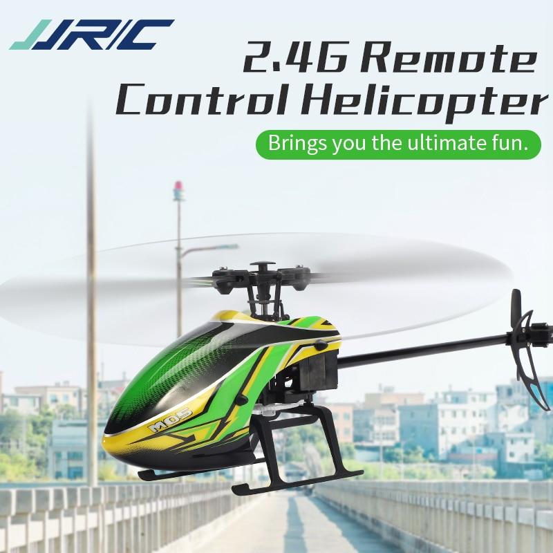 JJRC M05 2.4GHz 4 قناة 6-Axis جيروسكوب استقرار الارتفاع عقد RC هليكوبتر ل RC نماذج لعبة داخلي في الهواء الطلق ألعاب أطفال