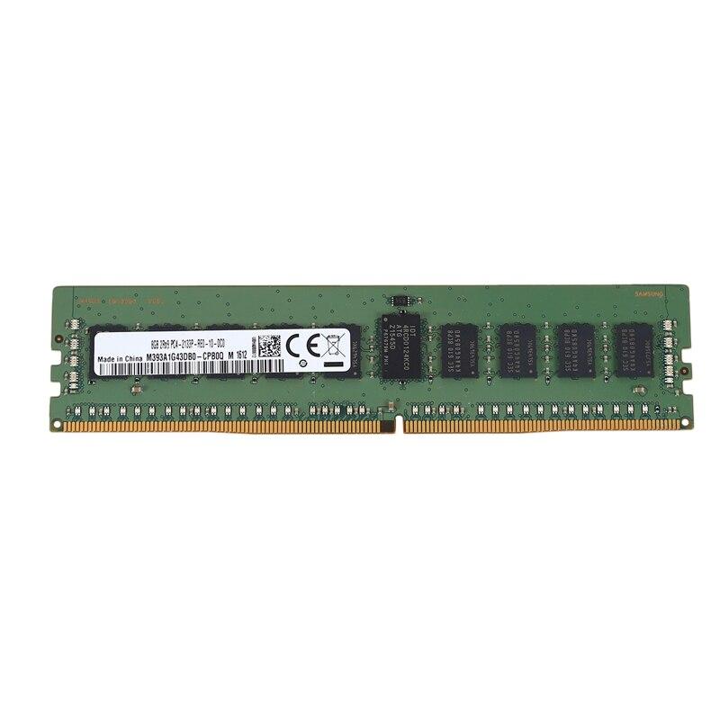 DDR4 8GB خادم Ram 2RX8 PC4-2133P 1.2V 213Hz 288PIN ECC ريج DIMM الذاكرة Ram