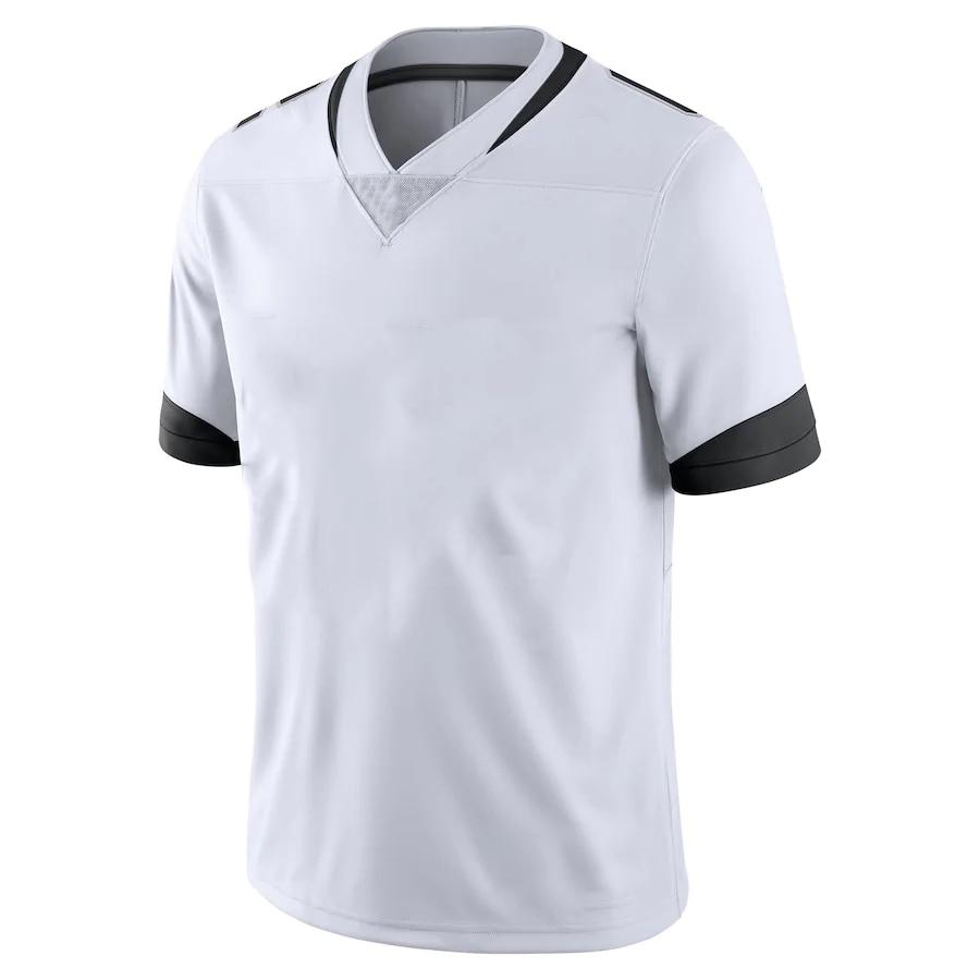 Мужская футболка с вышивкой по индивидуальному заказу, футболки для фанатов американского футбола Джексонвилл, футболки CHAISSON, брюнелл, рэм...