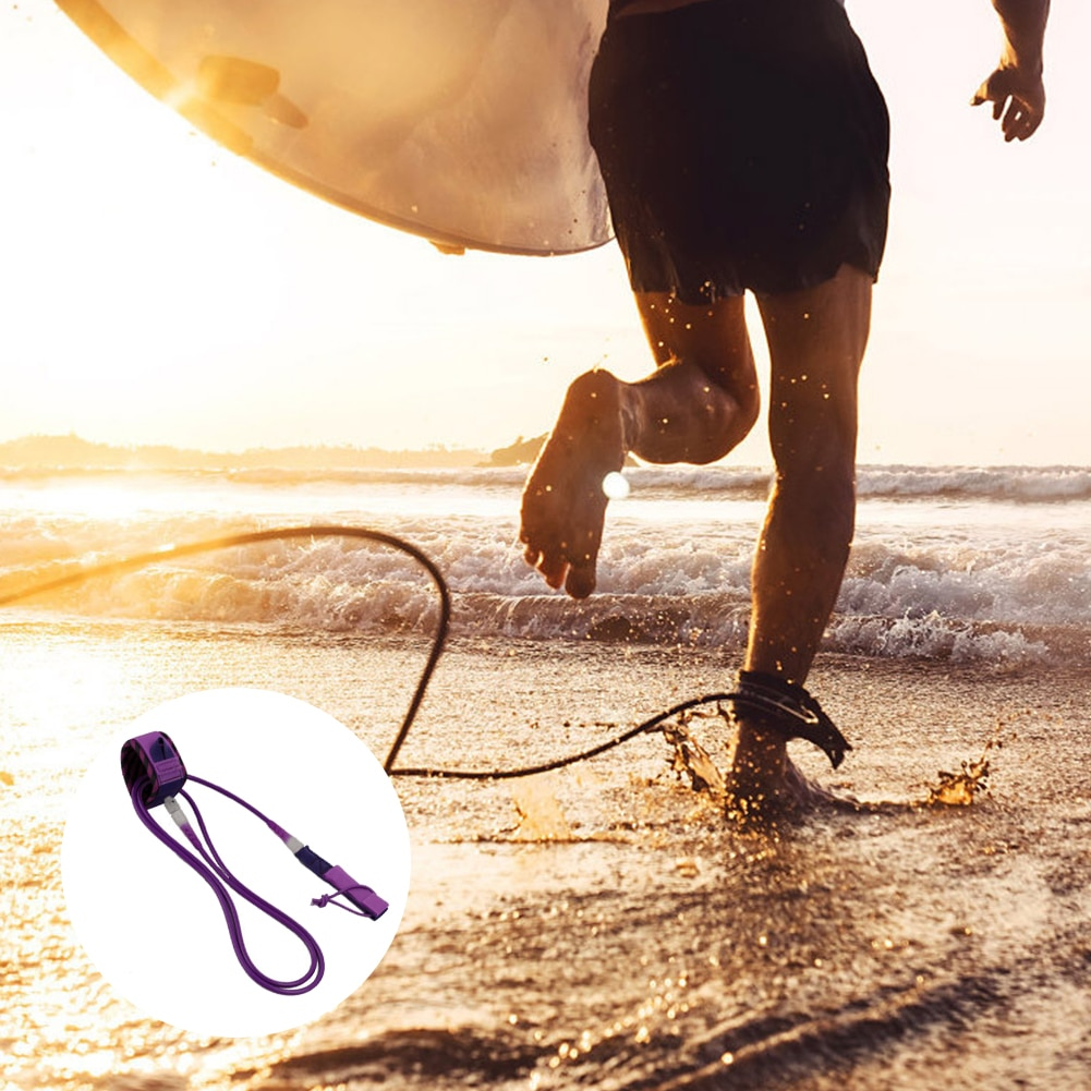 6FT Paddle Traction Rope Surf Traction Rope Paddle Board Traction Rope Surfboard Traction Rope Surf Leg Rope Men And Women