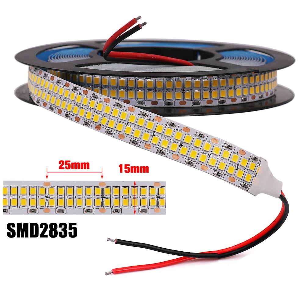 alta qualidade 2835 led luz de tira 5m 10m 20m impermeavel fita led noite luz 120