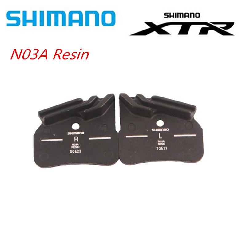 SHIMANO-وسادات راتينج D03S N03A ، وسادات معدنية ، DEORE XTR DEOR ، مع زعنفة تبريد Ice Tech ، لـ 4 مكبس M7120 M8120 M9120