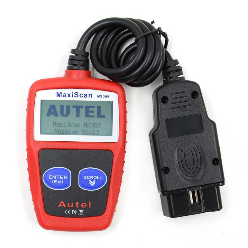 MS309 CAN BUS OBD2 сканер автомобиля считыватель кодов неисправностей автомобиля диагностический инструмент сброса неисправностей автомобильные...