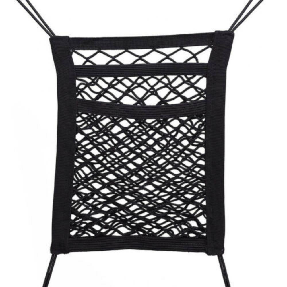 Защитная сетка для собак и домашних животных, универсальная эластичная сетка на заднее сиденье автомобиля, сетка для хранения, Органайзер