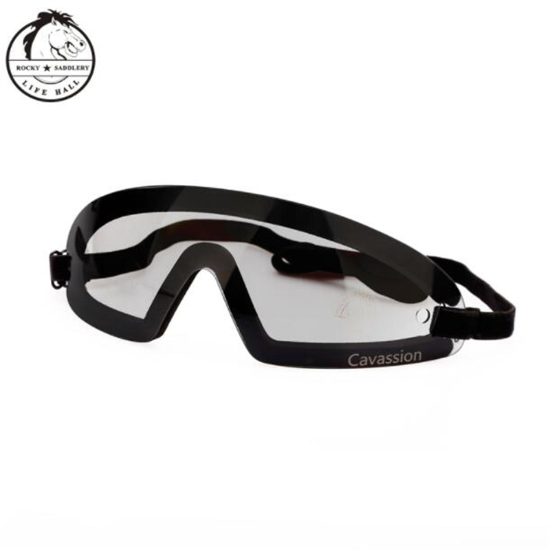 Cavassion Equestrian Competition Racing Goggles when riding horses