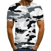 2021 new male camouflage t shirt summer casual 3d shirt printing o neck shirt fashion graphic t shirt male large size streetwear