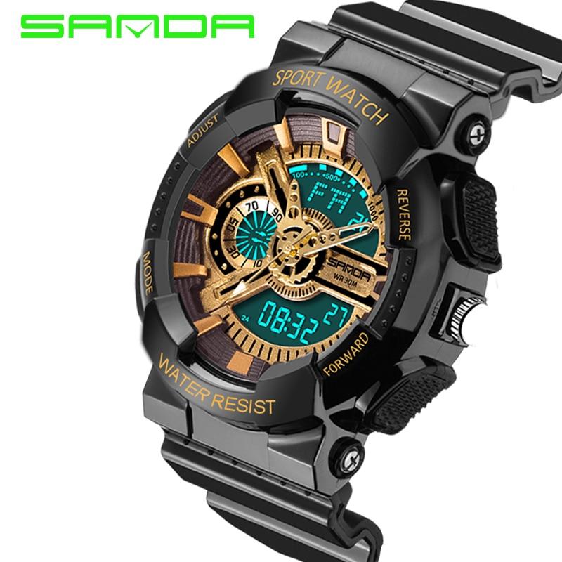 SANDA new brand watch man watch women wrist watch women watch man Ladies watch clock watch male watch woman's watch for women