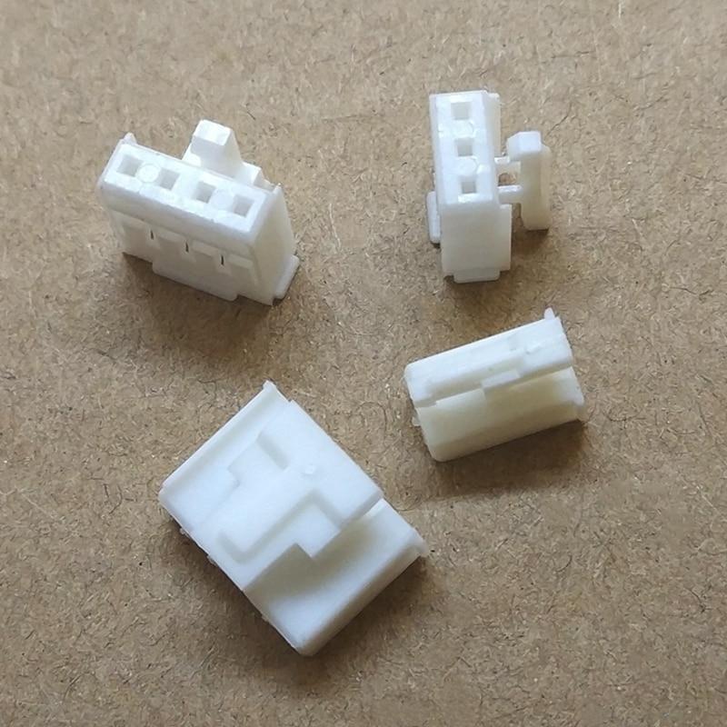 20 piezas HY 2,0mm carcasa de plástico conector carcasa para terminal 2P /3/4/5/6/7/8P con pestillo