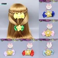 new fashion girls silk scrunchie elastic band made womens hair rubber band hair ties cute headwear hair accessoires a05 5