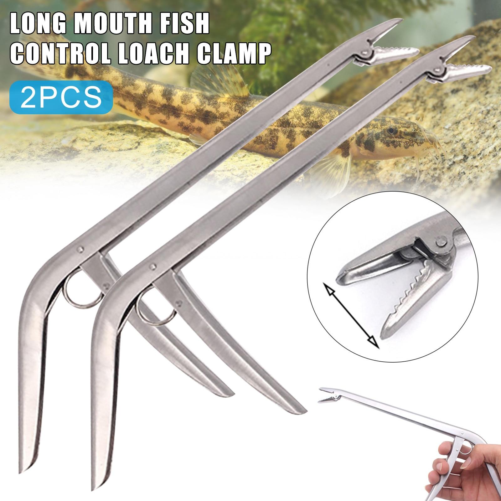 Gran oferta 2 uds gancho de pesca de acero inoxidable removedor Dispositivo de desenganche pinza de pesca pinza de extracción alicate herramienta de pesca desacoplamiento