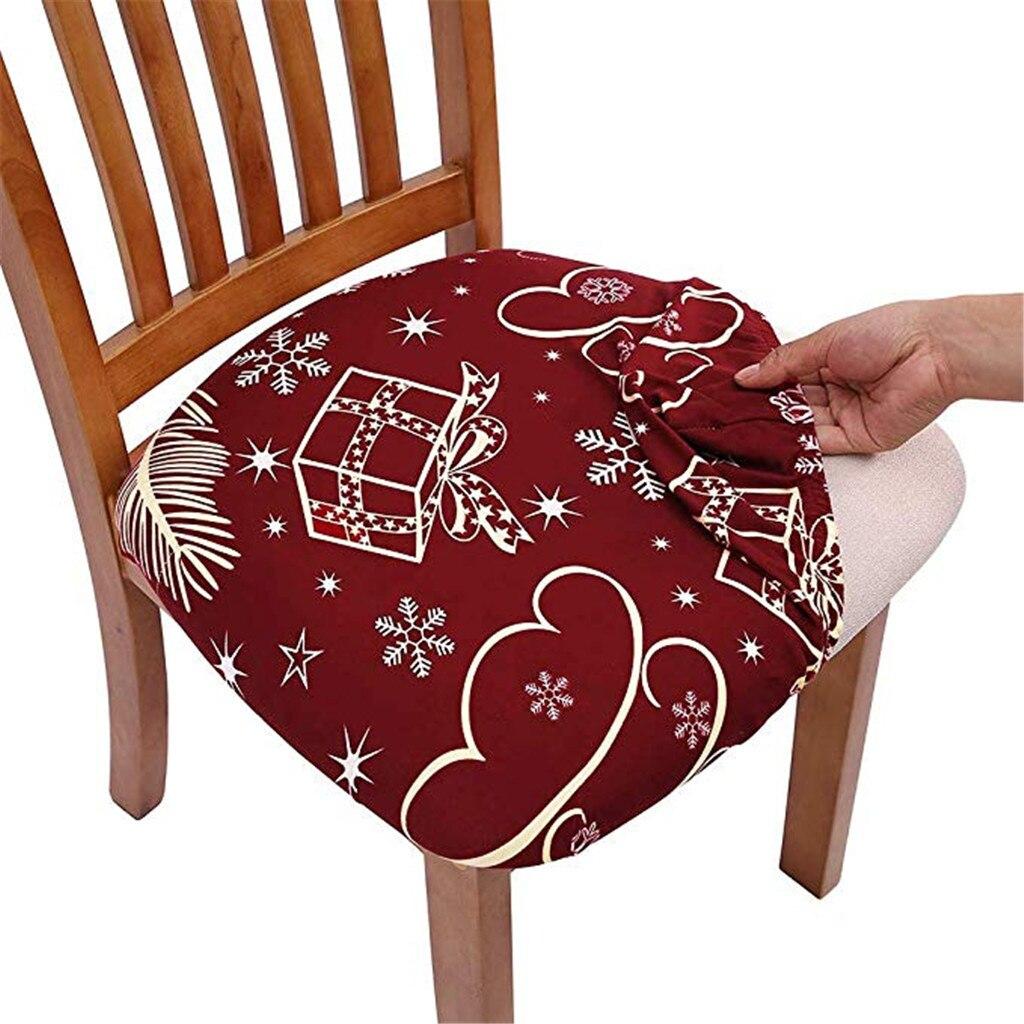 Capa de cadeira removível sala de jantar cadeira de estiramento caso elastano cadeiras elásticas capa pastoral do vintage impressão tampas de assento de carro # lr1