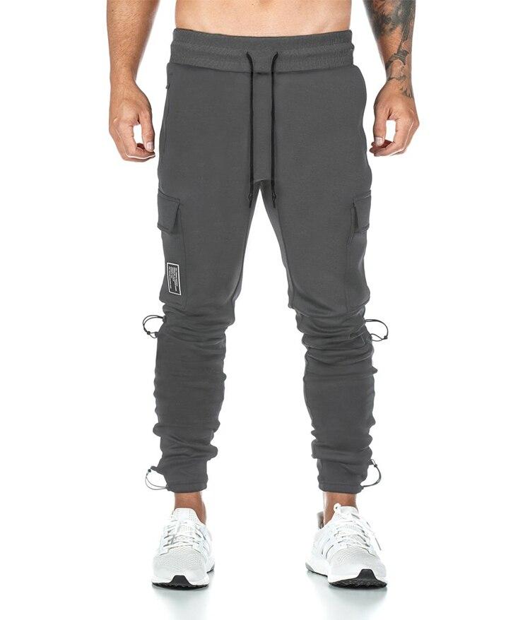брюки мужские спортивные штаны штаны оверсайз Весна 2021 мужские спортивные брюки Корейская версия большого размера с несколькими карманами...