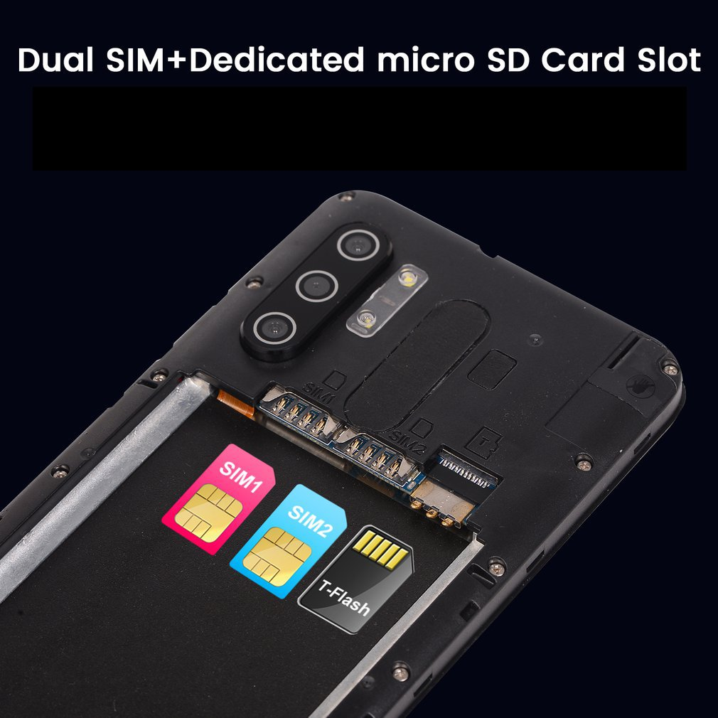 2021 New Arrival Note10 5.0 Inch Full Screen Smartphone 8 Core 4GB Dual Camera Andriod Phone 4000mAh Fast Focusing Cell Phone enlarge