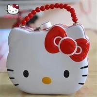 hello kitty cute cartoon hello kitty piggy bank with lock anti fall piggy bank creative childrens birthday