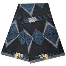 Telas 2019 auténticos estampados en cera Ankara, estampados en cera africana, diseños de Nigeria, 100 algodón
