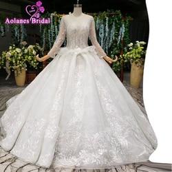2019 mais recentes vestidos de casamento boêmio tule rendas mangas compridas querida estrelas cristais brilhando frisado feito sob encomenda vestidos de noiva