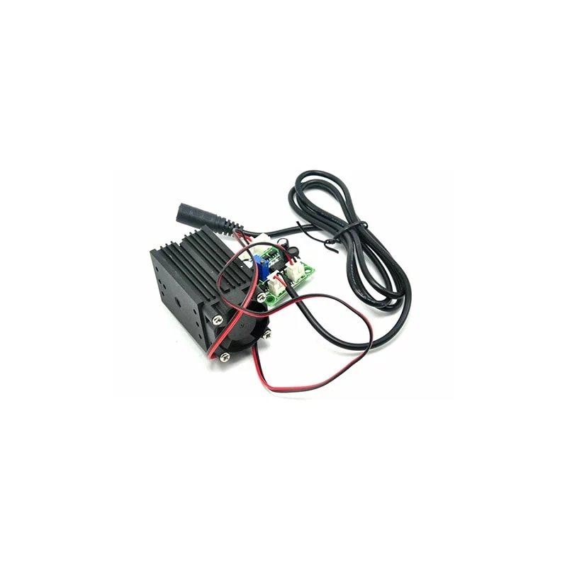 Фокусируемый 405 нм 50 мВт фиолетовый синий лазер линия модуль 33x50 мм w% 2F 12 В питание адаптер