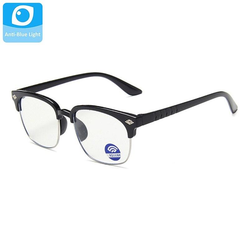 Vintage Gafas niños Anti-azul claro niños tonos niño Gafas de chicas chicos Gafas UV400 Gafas Oculos