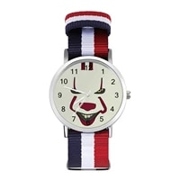 pennywise quartz watch gym design wrist watch couple modern wideband wristwatch