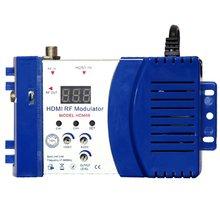 Modulateur Hdm68 modulateur numérique Rf Hdmi convertisseur Av à Rf modulateur Portable Standard Vhf Uhf Pal/Ntsc