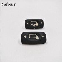 Cafoucs para Citroën C4, espejo retrovisor para coche, botón de interruptor para Peugeot 307 keyswitch